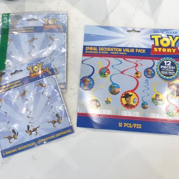 Toy Story 4 Birthday Decorations